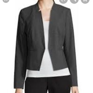 NWT Worthington gray heather admiral jacket sz 20T